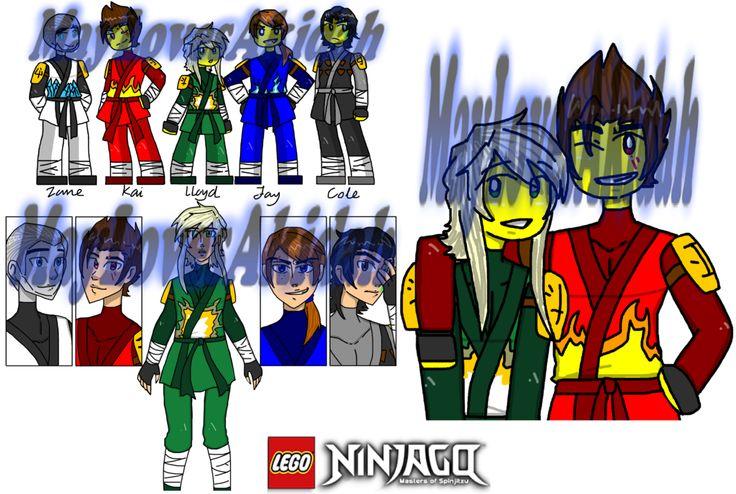 Ninjago AU #60 By MaylovesAkidah.deviantart.com On