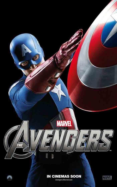 Los Vengadores 2012 Capitan America Magnificos Peliculas De Superheroes