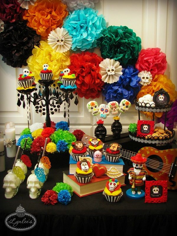 Book of Life Party for the Day of the Dead ~ Lynlee's