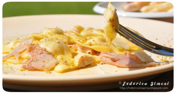 La cucina di Federica: Ravioli ripieni di asparagi e prosciutto