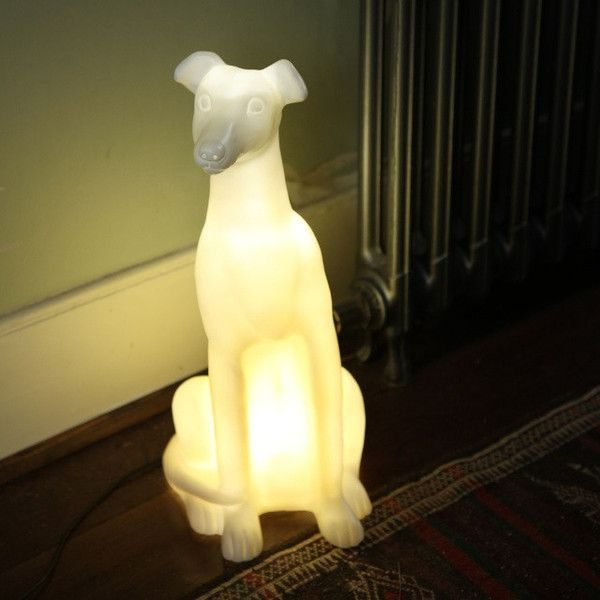 Archie The Whippet   Dog Lamp Nice Design