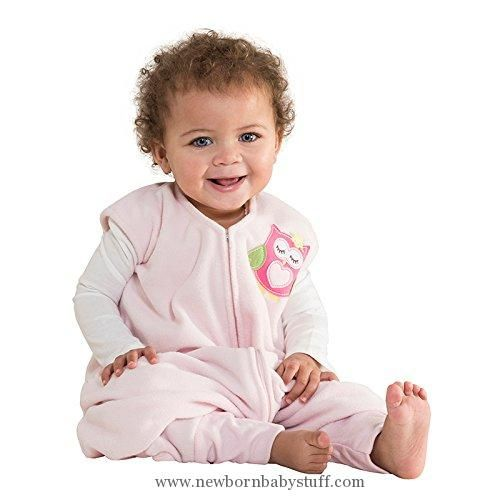 Baby Girl Clothes HALO Early Walker SleepSack Micro Fleece Wearable Blanket Pink, Large