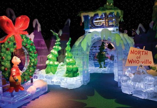 Enjoy the amazing ICE event at the Gaylord Opryland - an incredible ice sculpting event!