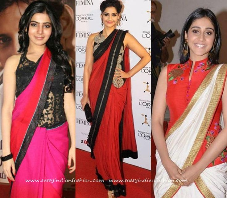 Waist Length Saree Jacket Designs