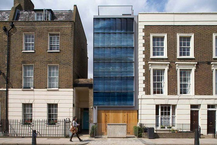In-fill House, Camden - Patel Taylor Architects.  I like the glass screen facade!