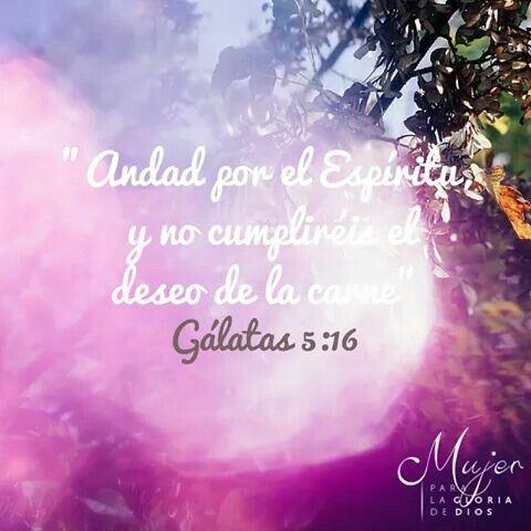 Galatas 5:16