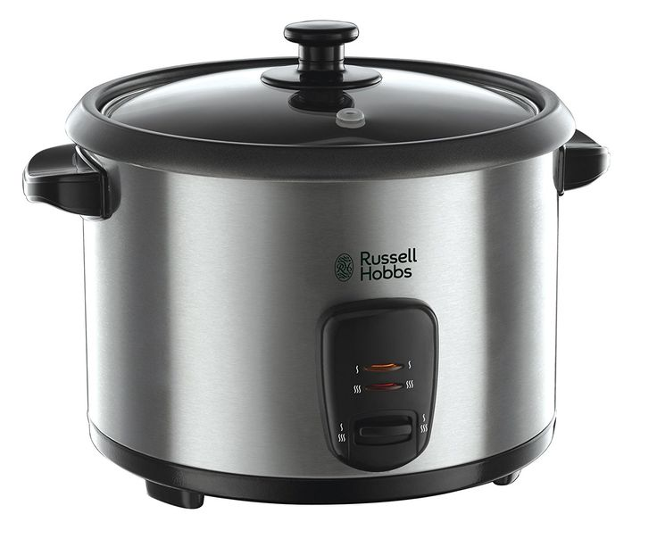 Russell Hobbs 19750 Rice Cooker and Steamer, 1.8 L - Silver: Amazon.co.uk: Kitchen & Home
