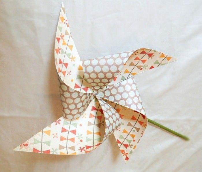 Las 25 mejores ideas sobre molino de viento de papel en - Tuto moulin a vent ...