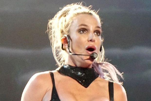 Britney Spears Winds Up in a Tree Due to Set Malfunction During Vegas Show