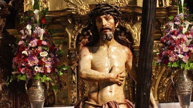 El Hospital del Pozo Santo custodia el Varón de Dolores de Roldán en Sevilla