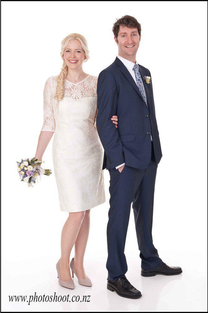 Spring Bride, short and sweet  by Jennie Field Dressmaker