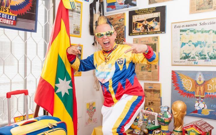 El hincha más fiel de la #Seleccion #Colombia nos invitó a su #Casa