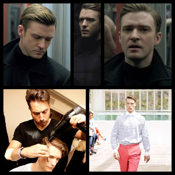 #JustinTimberlake is our #HairHero with his look used for #catwalk