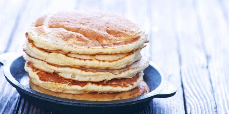 Recept: eiwitrijke pannenkoeken voor op kantoor | Women's Health