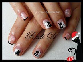 Nail art design cats  ♥ - Taringa!