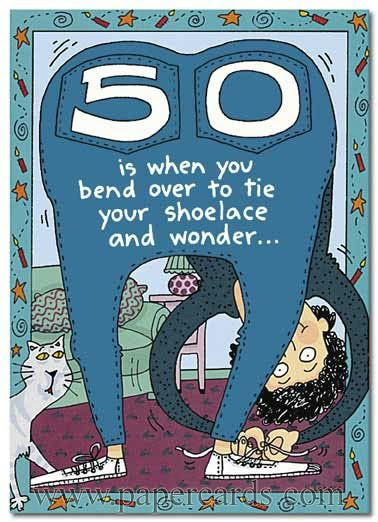 Happy Birthday 50th Funny 50 Is When You 1 Card 1
