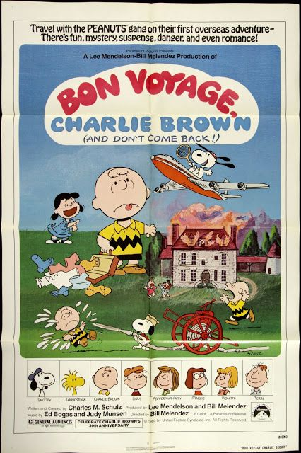 At the Movies: Bon Voyage, Charlie Brown (and Don't Come Back!!) ...