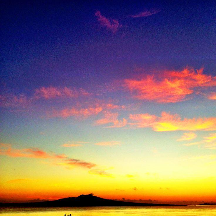 Early morning, Rangitoto Island, Auckland NZ