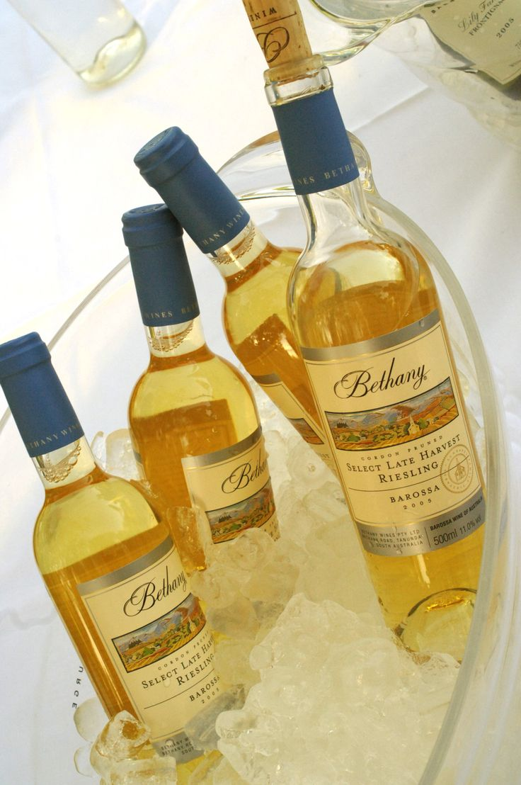 Bethany Select Late Harvest Riesling. The perfect dessert wine.