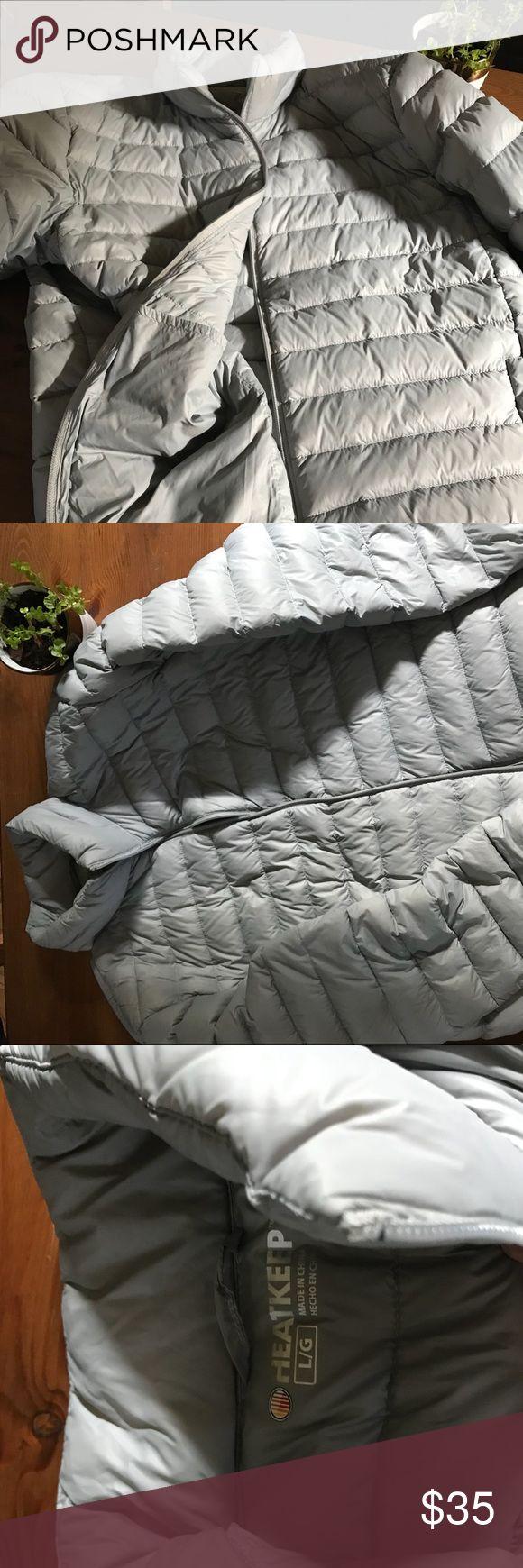 Men's HeatKeep Grey Puffer Jacket Great warm and stylish winter jacket, never been worn Jackets & Coats Puffers