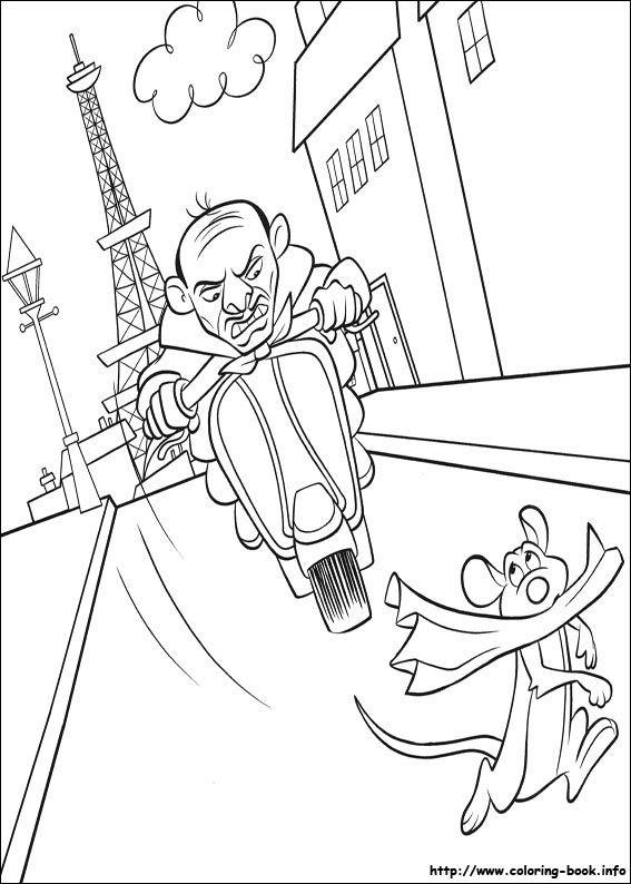 Disney Ratatouille Coloring Pages : Best disney ratatouille coloring pages images on