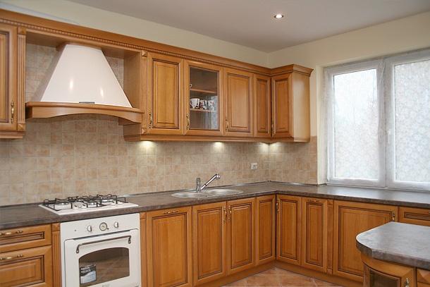 Kuchnia klasyczna drewniana