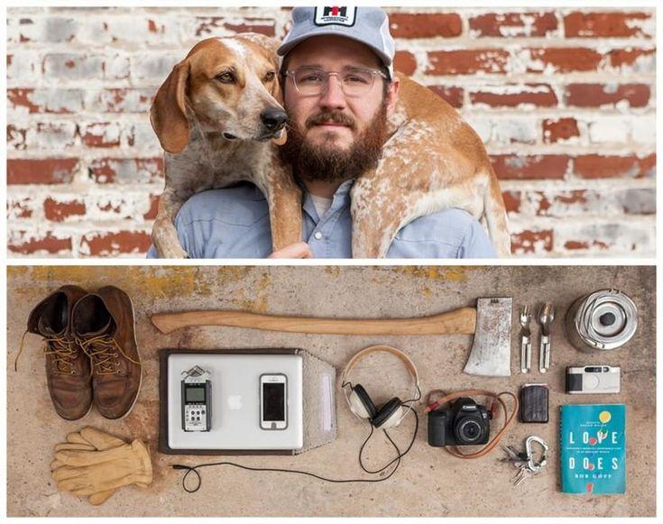 """Cosa c'è nella tua borsa? A svelarlo per immagini è  Jason Travis  con il fotoprogetto """"Persona"""". A differenza di altri lavori simili che """"smascheravano"""" semplicemente il contenuto delle borse altrui, in questo progetto c'è un'aggiunta: i proprietari ci metto"""