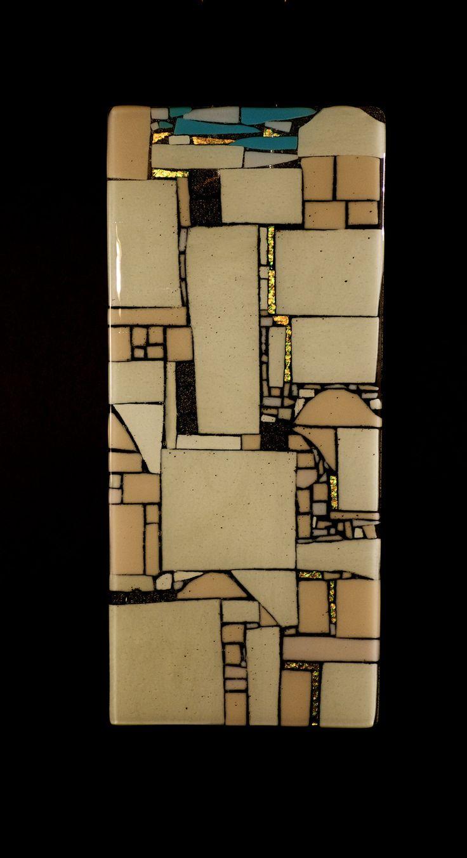 Jerusalem by Vicky Kokolski and Meg Branzetti: Art Glass Wall Art available at www.artfulhome.com