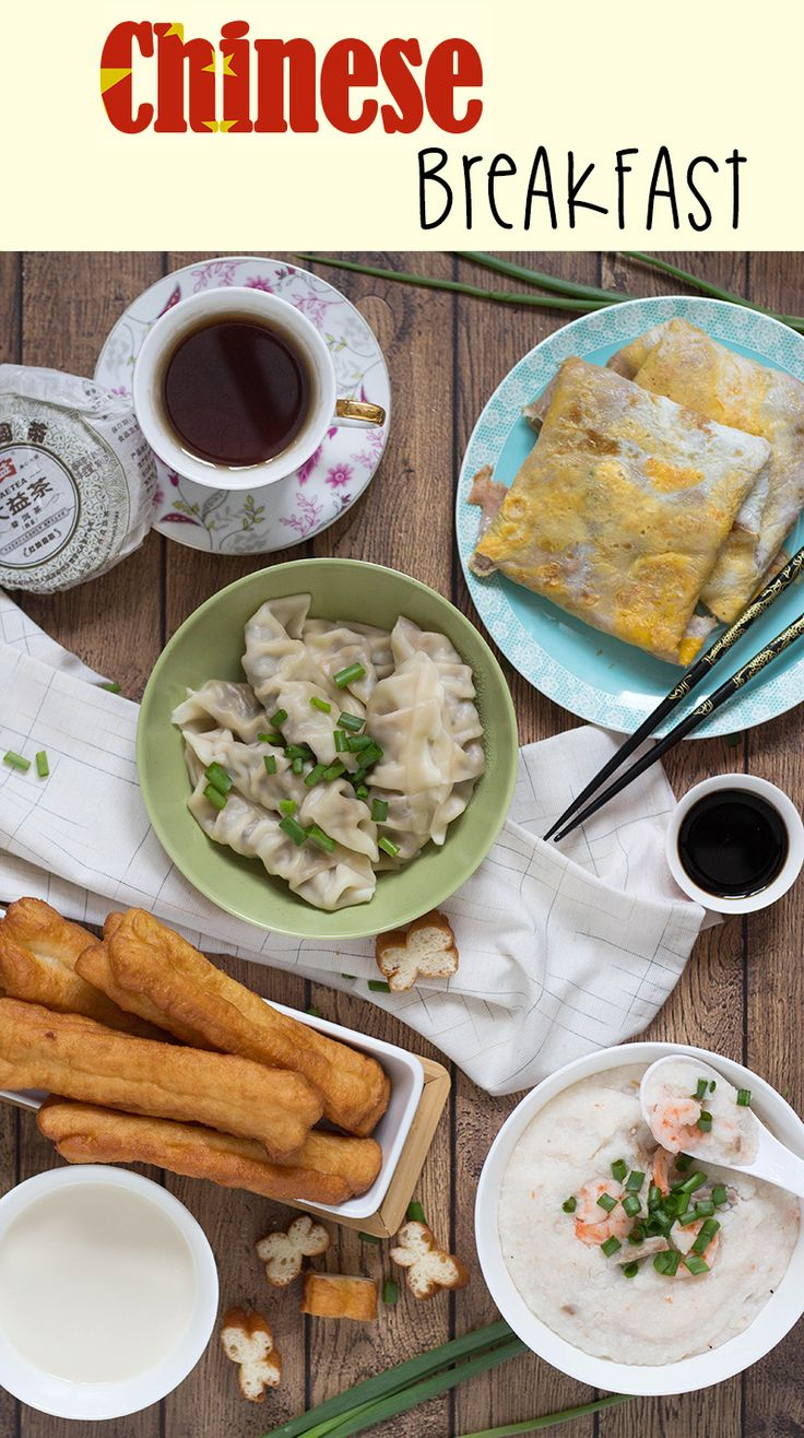 A look at the traditional Chinese breakfast including dumplings, rice porridge, fried bread sticks, and amazing crepes!   cookingtheglobe.com
