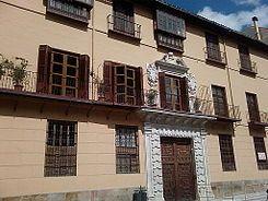El Palacio de Zea-Salvatierra es un edificio barroco Se trata de una edificación residencial de finales del siglo XVII y principios del XVIII, ubicada en el centro histórico, en la calle Císter.Hoy es propiedad de los herederos de José Gálvez Ginachero. El interior está organizado alrededor de un patio de alquerías y capiteles corintios
