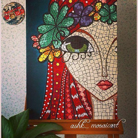 Mosaic in the world   .  Wonderful work friend❗  CONGRATULATIONS  .  .  Artist: @ashk_mosaicart  .  Visit this gallery   .   Follow @mosaicintheworld   Tag #mosaic_artlover  .  .  #mosaicart #mosaicartist #mosaic #mosaico #mosaicos #mozaik #mosaik #mosaique #fineart #finearts #fineartist #art #arte #art_lovers_world #artistic #artlover #art_lovers #artista #l4l  #gallery #work #hobby #like4like #bestwork #beautiful #awesome #quadros