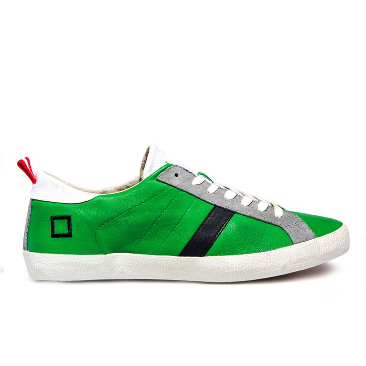 Spring Summer 2015 D.A.T.E. Sneakers Collection / Italian design / Hill Low Nappa Green:http://bit.ly/1F4anDO