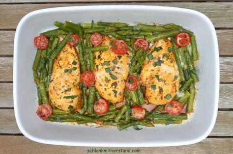Hähnchenbrustfilet auf grünem Spargel low carb Ein sehr leckeres und schnell zubereitetes Gericht. Zubereitungszeit: 20 Min. Koch-/Backzeit: 15 + 7 + 10 Zutaten für 2 Personen: 500 g …