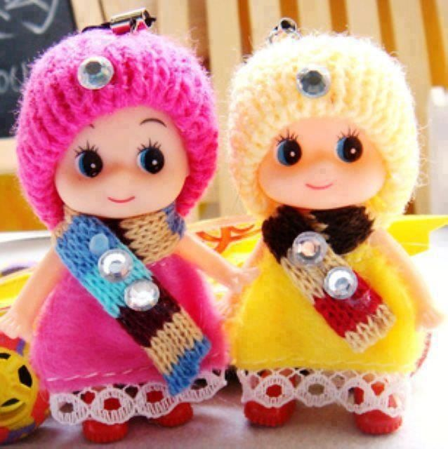 Pink and Yellow Dolls.