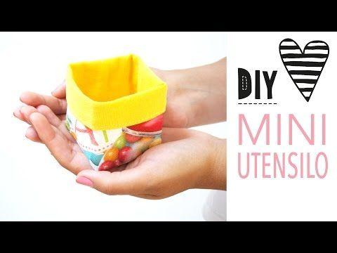 DIY MODE | Mini-Utensilo nähen mit Schnittmuster