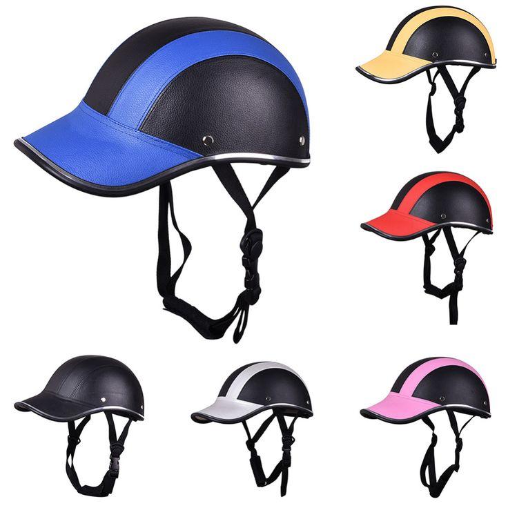 Baru Kedatangan Mortorcycle Setengah Wajah Helm Pelindung, Unisex Pria/Wanita Dewasa Sepeda Motor/Sepeda/Sepeda Helm, setengah Wajah Terbuka, ABS
