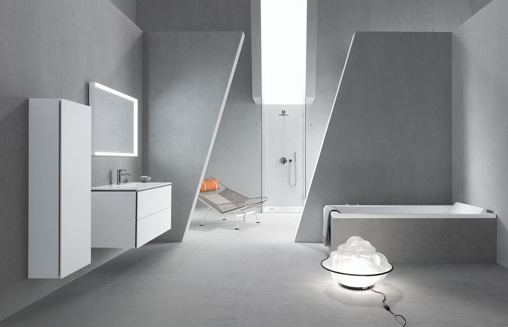 ME by Starck range of ceramics, bathtubs, shower trays and accessories designed by Philippe Starckfor Duravit.