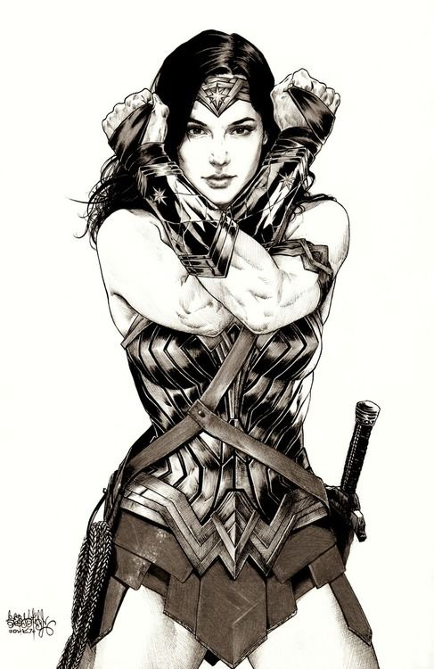 Wonder Woman - Gal Gadot by Garnabiel Kraken