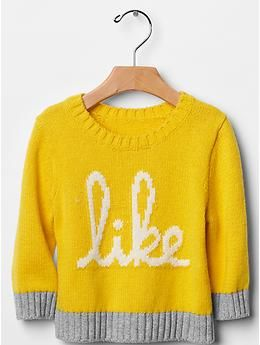 """#NinjaMax216 loves this sweater from Baby Gap! : """"Like"""" colorblock sweater"""