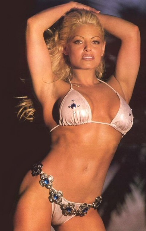 Trish stratus sexy bikini-8852