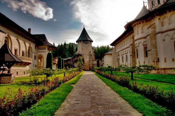 Voronet Monastery - painted monasteries