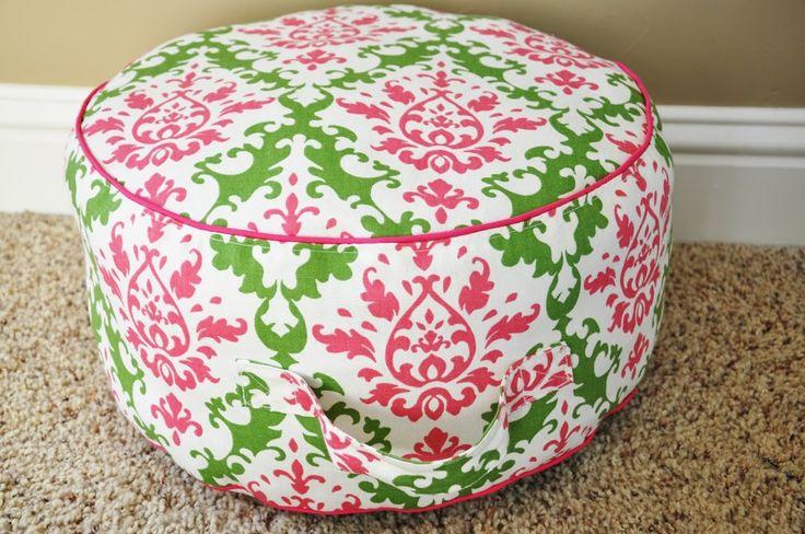 Tutorial: Land of Nod inspired Floor Cushion