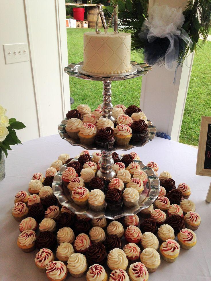 Tiered Cupcake Wedding