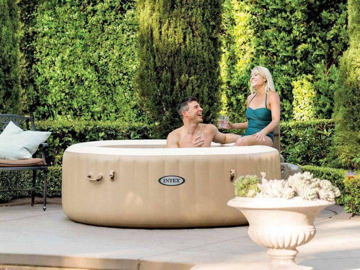 Le Meilleur Spa Gonflable En 2020 Comparatif Tests Et Avis Spa Hot Tubs Inflatable Hot Tubs Intex