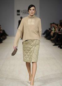 стеганая юбка 2