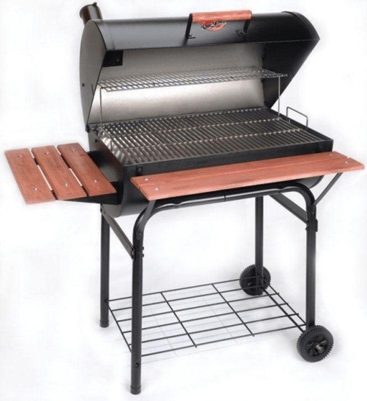 Barbacoa de carbón CharGriller SUPER PRO Apta para carbón y leña