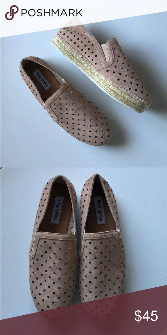 2dee4ba81b0 Steve Madden Widmer Espadrille Sneaker Blush pink slip on ...