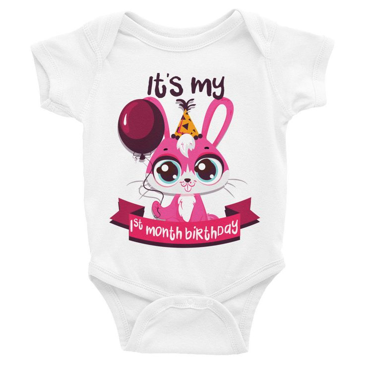 Milestone Onesies, Monthly Milestone Onesie, One Month Birthday Milestone Baby Clothes, Baby Girl Milestone Onesies, Baby Bodysuits, Baby http://etsy.me/2FzFRi9 #clothing #children #bodysuit #milestoneonesies #babybodysuits #babyonepiece #babycreeper #monthly #mileston