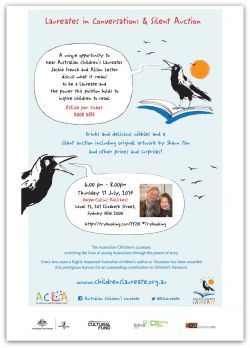 A chance to see two of the Australian Children's Laureates ....