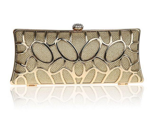Women's Fashion Geometric Sequin Clutch Handbags #ClutchBag #ClutchBags